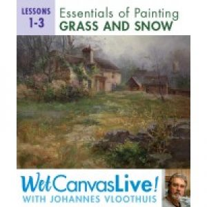 Essentials Of Painting Grass and Snow