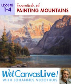 Essentials Of Painting Mountains